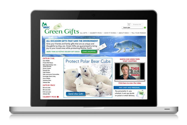 Green Gifts web