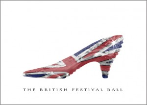 The British Festival Ball invite