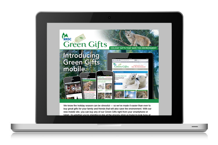 Green Gifts Mobile