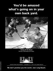 HTTV Hockey Ad