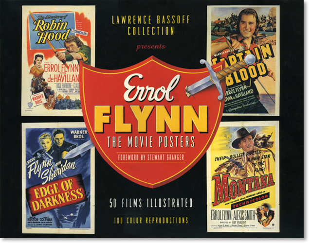 Errol Flynn Movie Posters cover